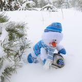 Schneemann - Weihnachtsfotos auf Lager Lizenzfreie Stockfotografie