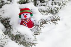 Schneemann - Weihnachtsfotos auf Lager Stockfotos