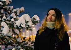 Schneemodell lizenzfreie stockbilder