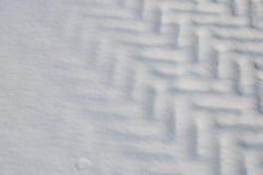 Schneemuster Stockbild
