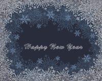 Schneemuster auf Glas Lizenzfreies Stockfoto