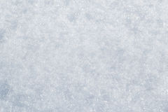 Schneenahaufnahme Stockfoto