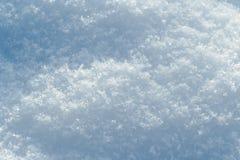 Schneeoberfläche Lizenzfreies Stockbild