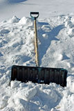 Schneeschaufel Lizenzfreie Stockfotografie