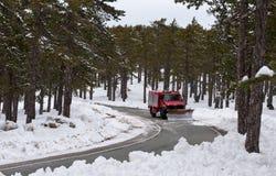 Schneeschlag Stockbilder