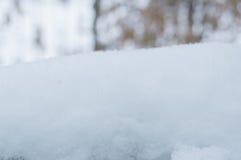 Schneestapel Stockfotografie