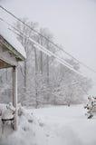 Schneesturm Lizenzfreies Stockbild