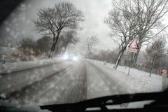 Schneesturm Lizenzfreie Stockfotografie