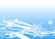 Schneesturmverzierung vektor abbildung