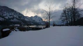 Schneetag lizenzfreies stockfoto