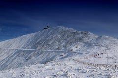 Schneewittchen-Spitze Stockbild