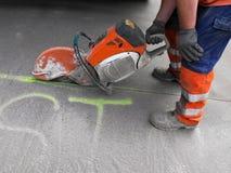 Schneidarbeiten. Stockbilder