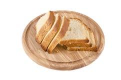 Schneidebrett mit Brot Lizenzfreies Stockbild