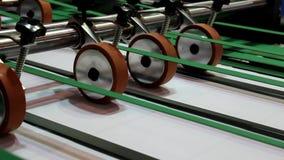 Schneidemaschine stock footage