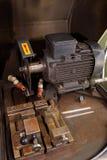 Schneidemaschine im Labor stockbild