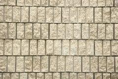 Schneiden Sie Block-Wand Lizenzfreie Stockfotografie