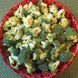 Schneiden Sie Brokkoli Stockfotos
