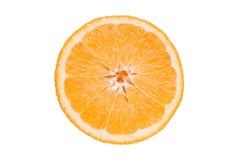 Schneiden Sie die Orange stockfoto