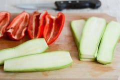 Schneiden Sie Gemüse Lizenzfreie Stockbilder