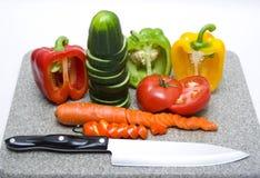 Schneiden Sie Gemüse Lizenzfreies Stockbild