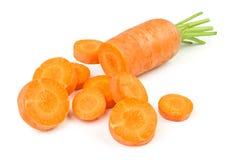 Schneiden Sie Karotte lizenzfreie stockfotos