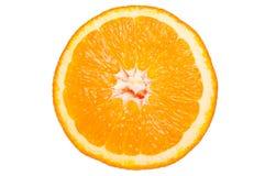 Schneiden Sie Orange Stockfoto