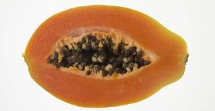 Schneiden Sie Papaya Stockbilder