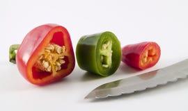 Schneiden Sie Pepper5 Stockfoto