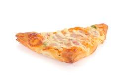 Schneiden Sie Scheibepizza ab Lizenzfreies Stockbild