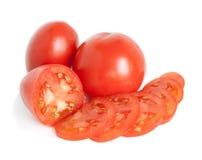 Schneiden Sie Tomate Stockfoto