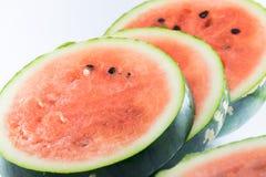 Schneiden Sie Wassermelone Lizenzfreie Stockfotografie