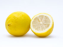 Schneiden Sie Zitrone Stockbild