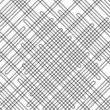 Schneidene schiefe geometrische Formen stockbilder