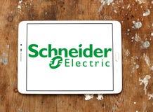 Schneider Electric-Energiekonzernlogo Lizenzfreies Stockbild