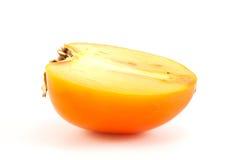 Schneidet orange Persimone Stockfoto