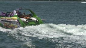 Schnellboot-Hafen-Bucht stock video footage