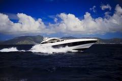 Schnellboot-Paradies Stockbild