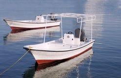 Schnellboote an der Bahrain-Küste Lizenzfreies Stockfoto
