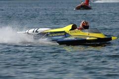 Schnellbootrennen Lizenzfreie Stockfotografie