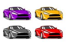 Schnelle Autos Lizenzfreie Stockbilder