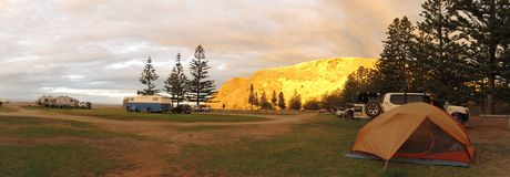 Schnelle Bucht nahe Adelaide, Süd-Australien Stockbilder