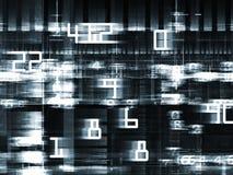 Schnelle Digital-Welt Lizenzfreies Stockbild