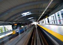 Schnelle Durchfahrt Lizenzfreies Stockfoto