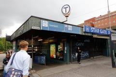 Schnelle Durchfahrtsstation Gronland lizenzfreies stockbild