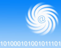 Schnelle eMail Stockfotos