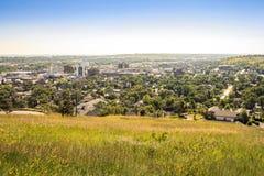 Schnelle Stadt in South Dakota, USA lizenzfreies stockbild