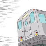 Schnelle Untergrundbahn Stockfotos