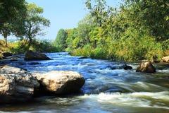 Schneller Fluss Stockbild