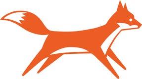 Schneller Fox Lizenzfreies Stockfoto
