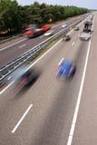 Schneller Verkehr stockbild